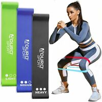 Aduro Resistance Bands Loop Set Strength Exercise Fitness Gym Yoga Home Workout