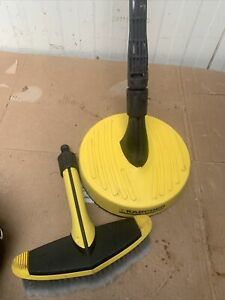 1 X karcher patio cleaner attachment And Brush