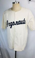 Vintage Toronto Argonauts CFL Cotton Button Down Jersey Shirt Football Sz Large