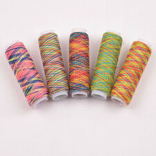 5PCS Sewing Machine Threads Overlocking String Polyester Colorful