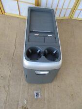 04-09 Nissan Quest Center Storage Drink Holder Armrest Console Storage GRAY