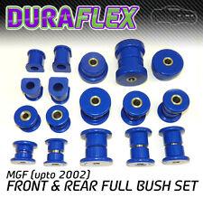 MGF (upto 2002) FRONT & REAR BUSH SET Blue Duraflex PRO Polyurethane