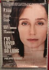 Original Movie Poster I've Loved You So Long Single Sided 27x40