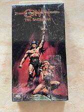 Conan the Barbarian (VHS) - ARNOLD SCHWARZENEGGER - 1981 - SEALED - NIB