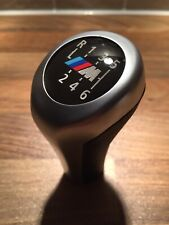 BMW 6 Speed Gear Knob M Sport Manual Cars Leather Chrome