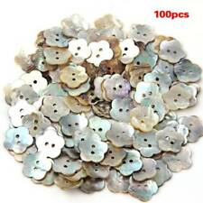 100x15mm Pearl Buttons Mother of Pearl Shell Flower Button SS