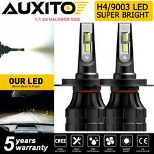 2X AUXITO H4 9003 20000LM 140W LED Headlight Kit High Low Beam 6000K Bright Bulb