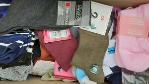 Palette Lot revendeur de 100 paires de chaussettes/socquettes