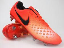 Nike Mens Rare Magista Opus Ii Sg Pro 844597 807 Orange Red Soccer Cleats Size 8
