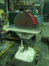 "State 24"" Heavy Duty Disc Sander 3 Phase"
