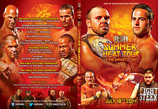 Official ROH Ring of Honor Summer Heat Tour: Cincinnati 2014 DVD