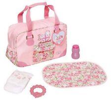Baby ANNABELL BAMBOLA Borsa fasciatoio Fasciatoio Pannolino Anello di dentizione e una bottiglia _ UK