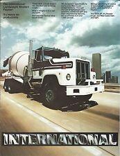 Truck Brochure - International  F 5070 SF Ltwt Western Paystar Cement (T1930)