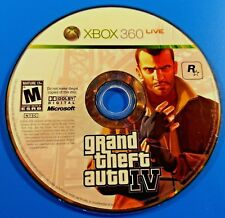 Grand Theft Auto IV (Microsoft Xbox 360, 2008) Disc Only #W