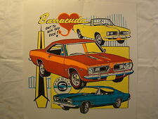 """Barracuda Formula S Red Blue 11"""" X 12"""" T Shirt Iron On Heat Thermal Transfer"""