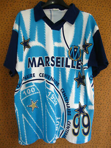 Maillot Marseille Supporter OM années 90 Football 90'S centenaire - L