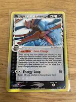 Deoxys - Pokemon Card - EX Holon Phantoms 3/110 - Rare Holo - NM