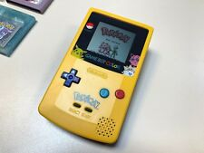 Nintendo Gameboy Color GBC Pikachu Pokemon Red Crystal Spiderman2