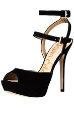 Sam Edelman NADINE High Heel Stiletto Shoes Women 9 Black Patent