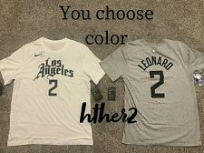 Kawhi Leonard Nike City Edition Los Angeles Clippers Shirt IN HAND  S - 2XL