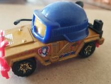 2003 MATCHBOX POLICE HELMET MISSION  1:64 DIECAST CAR FREE SHIPPING
