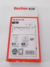 10 Stück Fischer Ankerstange RG M10x130 NEU OVP