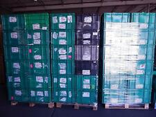 Pallet of 24 Plastic Straight Wall Containers 21x21x14