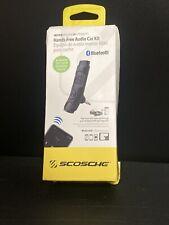 Scosche Btaxs2R Hands Free Audio Car Kit Wireless Bluetooth Receiver Siri Google