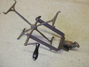 Vintage Hardy Brass line winder /drier 1897 model  ** Very rare**