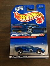 #921 1999 First Editions FORD GT-40 Hot Wheels *Free Shipping