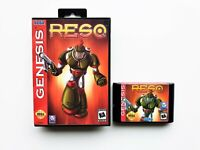 ResQ Sega Genesis - Unreleased / Cancelled Game - Action Adventure (USA Seller)