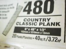Armstrong ceiling tile planks, 3 BOXES damaged UPC 042369014380