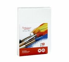 Canvas Panels 12 Pack - 5 Inch X 7 Super Value Pack- Artist Boards Painting