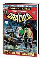 Tomb of Dracula Volume 1 Omnibus New Printing Marvel HC Hard Cover Sealed $100