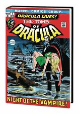 2018 Marvel Comics TOMB OF DRACULA Omnibus HC Global Shipping $100 784 pages