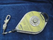 Msa 52 Ft Rose Dyna Lock 506204 Self Retracting Lanyard 16 Meter With Papers