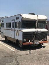 1974 Winnebago Indian 23' RV  NO RESERVE motor home RV camper VINTAGE REAL DEAL