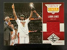 LeBron James GU Jersey Relic #/99~12' Limited *Free Delivery On Cards Under $25*