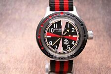 VOSTOK AMPHIBIAN RUSSIAN SOVIET USSR MILITARY WATCH RADIO ROOM NAVY U-BOOT BOAT