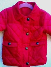 Baby Girls Next Coat Pink Quilted 9-12 Months