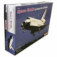 Dragon Plastic Model Kits #11004 1:144 Space Shuttle w/Cargo Bay and Satellite