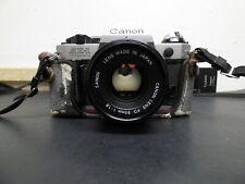 Canon AE-1 Program 35mm Film Manual Camera (Kit with 50mm F1.8 Lens) FREE SHIP!!