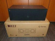 KEF Q600c SP3727WA Heimkino Center Lautsprecher Centerspeaker Walnuss NEU