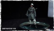 1/35 Built & Painted  resin 'Alpine' WW2 German Winter soldier (4)