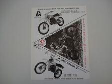 advertising Pubblicità 1978 MOTO GORI 125/250 CROSS/REGOLARITA'