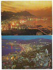 China Hong Kong two postcards to Australia 1977 & 1988