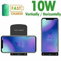 10W Qi Wireless Charger Stand Fast Charging Dock Station Phone Charger Durable