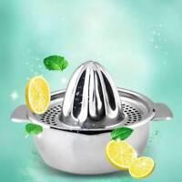 Kitchen Juicer Lemon Lime Orange Fruit Hand Squeezer Press Tool Stainless Steel