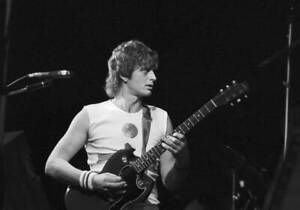 British Musician Mike Oldfield Performing In Copenhagen 1983 MUSIC OLD PHOTO 2