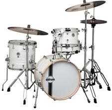 dDrum 4-Piece SE Series Flyer Basswood Shell Drum Set - White Marine Pearl Wrap